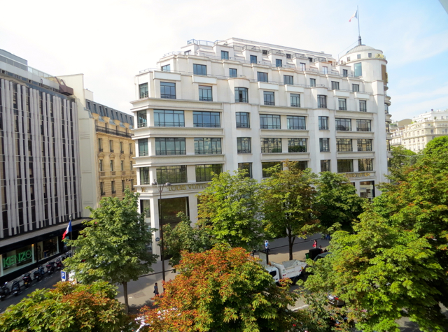 Hotel Fouquet's Barriere Paris Review - View from Deluxe Room
