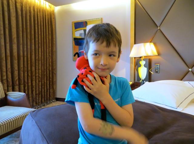 Hotel Fouquet's Barriere Paris Review - Grenadine Ladybug Mascot