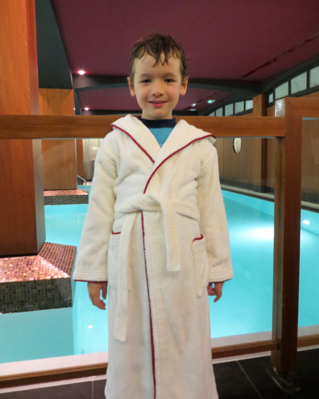 Hotel Fouquet's Barriere Paris Review - In a Child Size Bathrobe