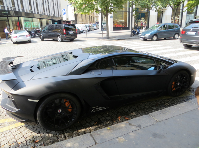Hotel Fouquet's Barriere Hotel Review - Black Sports Car