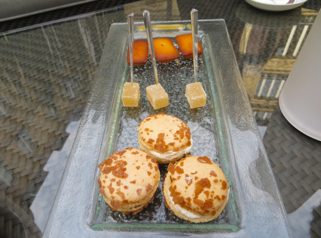 Hotel Fouquet's Barriere Paris Review - Delicious Sweets at Galerie Joy Terrace