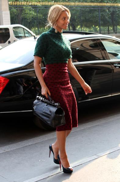 Hotel Fouquet's Barriere Paris Review - Beyonce Knowles Arriving at Hotel Fouquet's Barriere