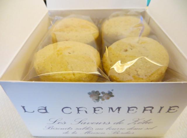 Hotel Fouquet's Barriere Paris Review - La Cremerie Butter Cookies