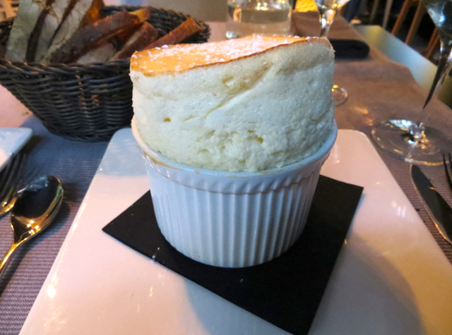 La Regalade Conservatoire Paris Review - Grand Marnier Souffle