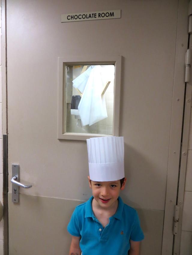 Four Seasons Paris Kids Pastry Lesson-Chocolate Room
