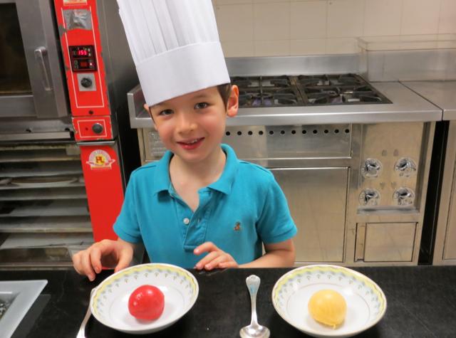 Four Seasons Paris Kids Pastry Tour - Sorbet Tasting