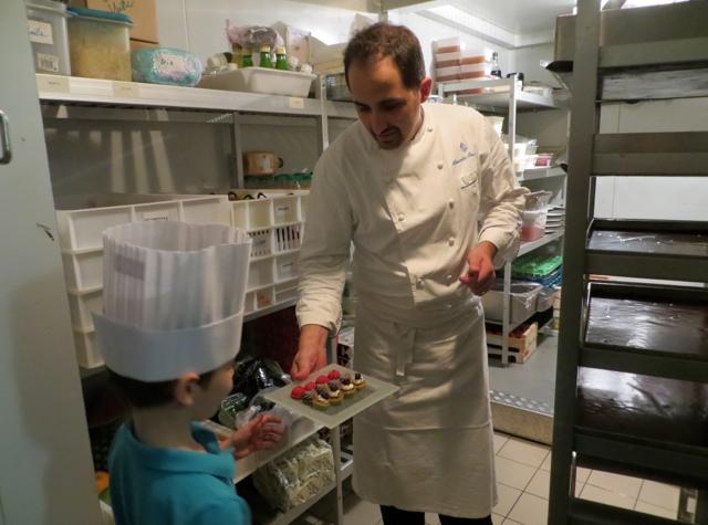 Four Seasons Paris Kids Pastry Lesson-Pastry Kitchen Cooler