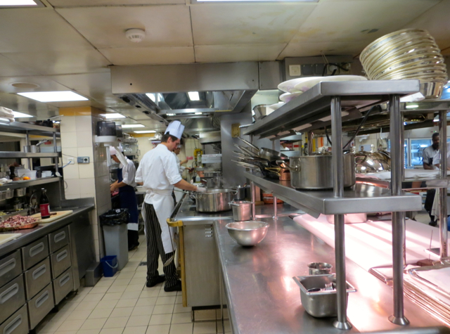 Four Seasons Paris Kitchen