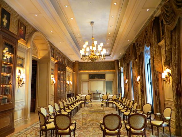 Four Seasons Paris Back of House Tour - Salon Anglais Houses Secret Doors