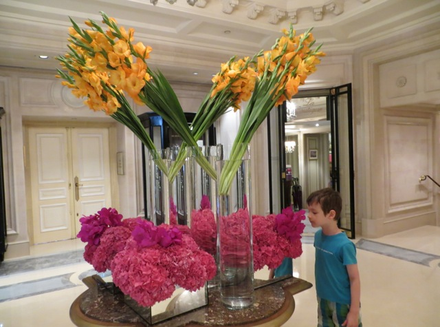 Four Seasons Paris Kids Pastry Lesson and Back of House Tour