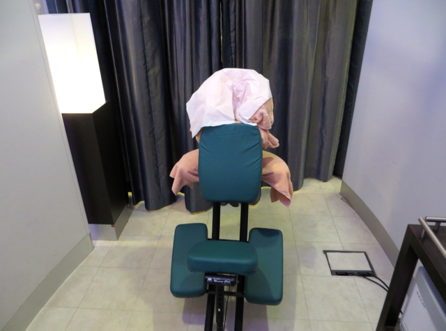 British Airways Concorde Room Review - Elemis Spa Massage Room