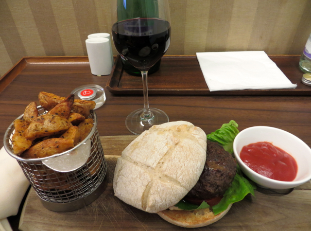 British Airways Concorde Room and Cabana Review - Burger