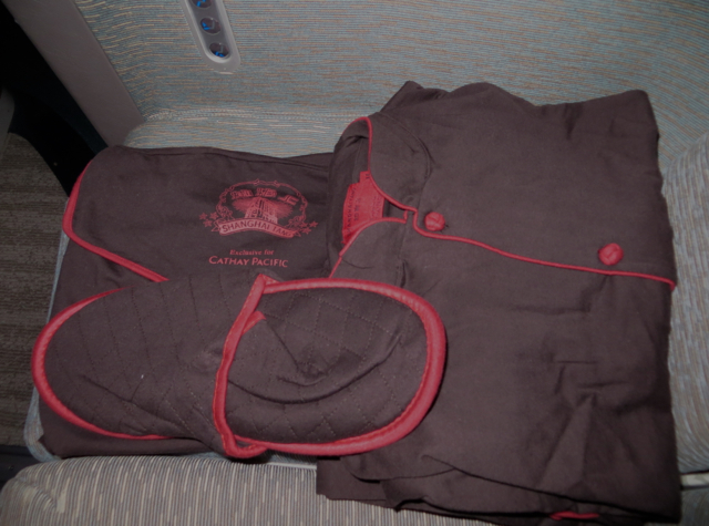 Best Airline Pajamas - Cathay Pacific First Class Pajamas