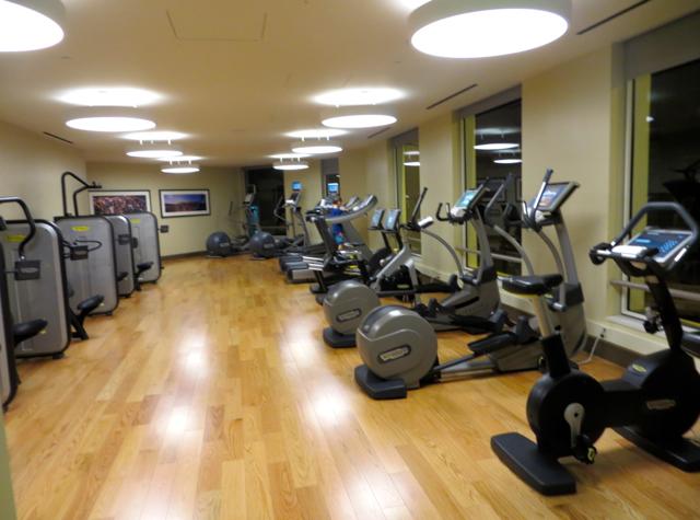 Mandarin Oriental San Francisco Hotel Review - Health Club Machines