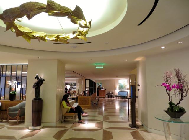 Mandarin Oriental San Francisco Hotel Review - Lobby