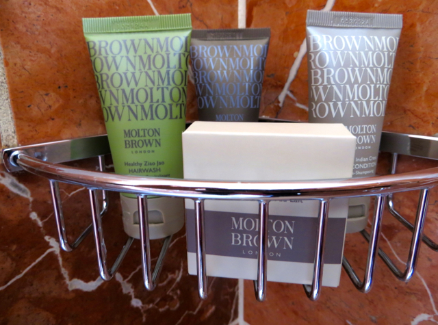 Mandarin Oriental San Francisco Hotel Review - Molton Brown Bath Amenities