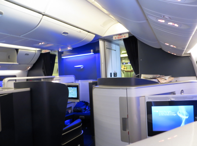 British Airways New First Class Review-First Class Cabin