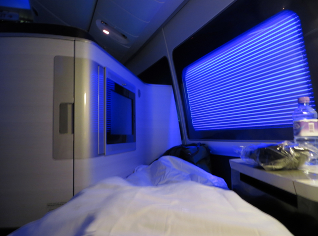 British Airways New First Class Review - Flat Bed