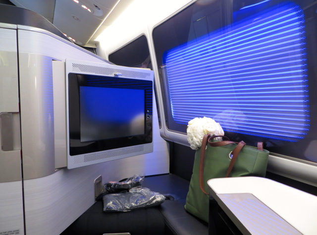 British Airways New First Class Review - Seat 3K