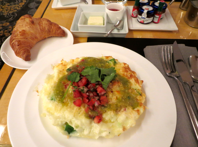 Mandarin Oriental San Francisco Brasserie S&P-Egg White Frittata for Breakfast