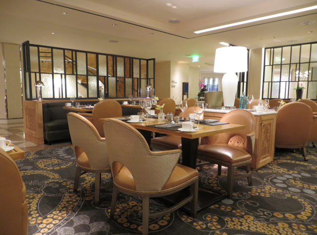 Mandarin Oriental San Francisco Brasserie S&P Breakfast Review