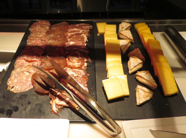 Brasserie S&P Breakfast Buffet-Cured Meats and Local Cheeses