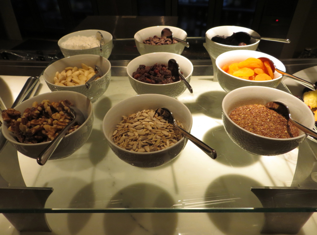 Brasserie S&P Breakfast Buffet: Dried Fruits, Nuts and Seeds