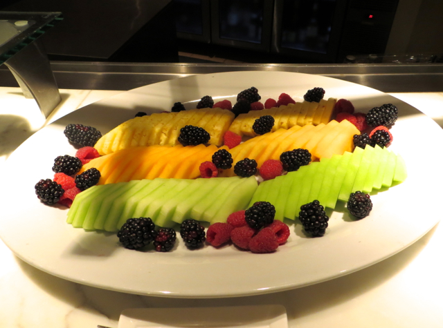 Mandarin Oriental San Francisco Brasserie S&P Breakfast Buffet-Pineapple, Melon and Berries