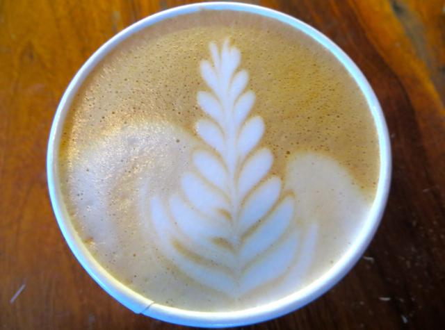 Tartine Bakery San Francisco Review - Latte