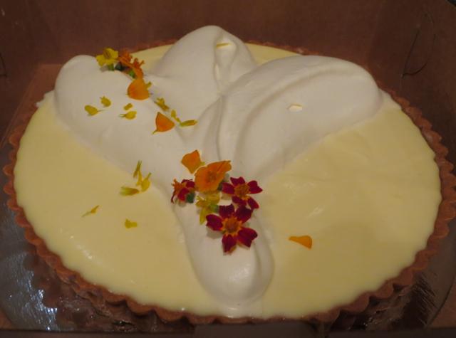 Tartine Bakery San Francisco Review - Lemon Cream Tart