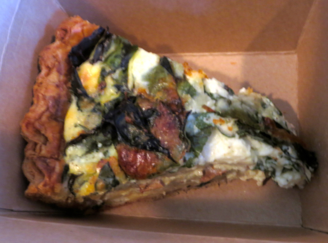 Tartine Bakery San Francisco Review - Quiche