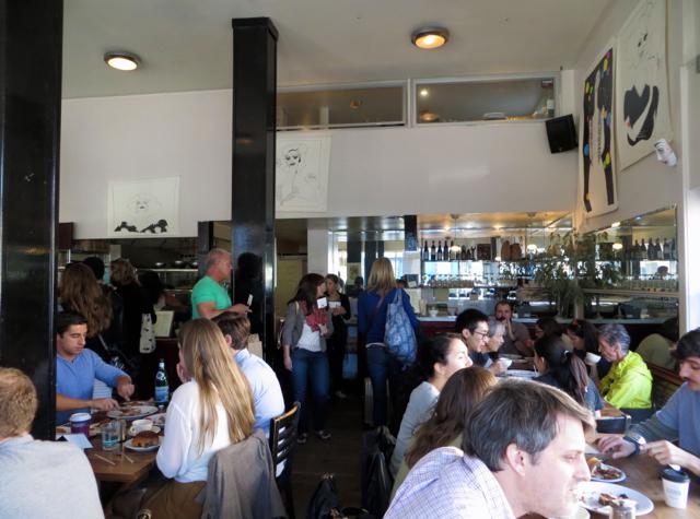 Tartine Bakery San Francisco Review - Weekend Crowd