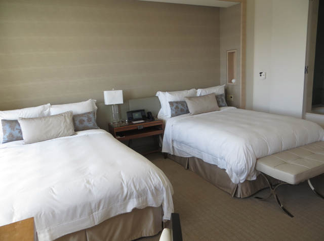 St. Regis San Francisco Hotel Review - Grand Deluxe Room 2 Double Beds