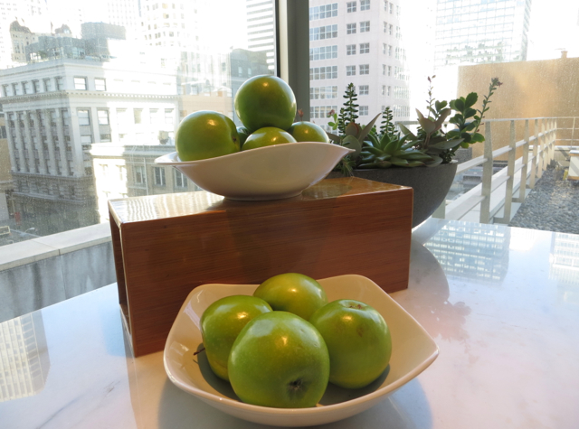 St. Regis San Francisco Hotel Review - Apples in Fitness Center