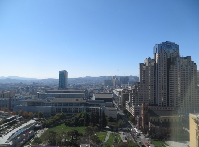 St. Regis San Francisco Hotel Review - Grand Deluxe Room View of Yerba Buena Gardens