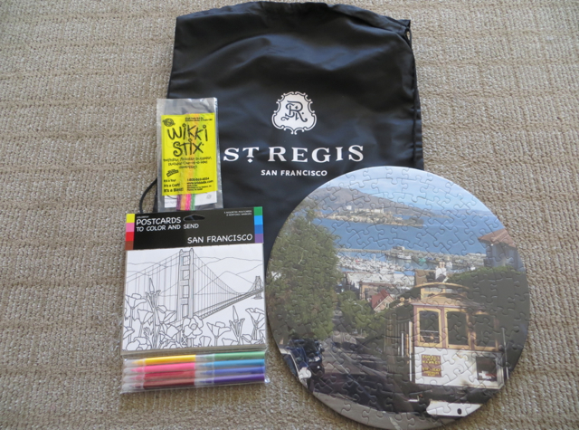 St. Regis San Francisco Hotel Review - Kids' Welcome Amenities