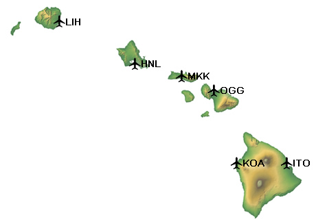 Cheap Hawaii Interisland Flights Miles and Points or Paid Ticket