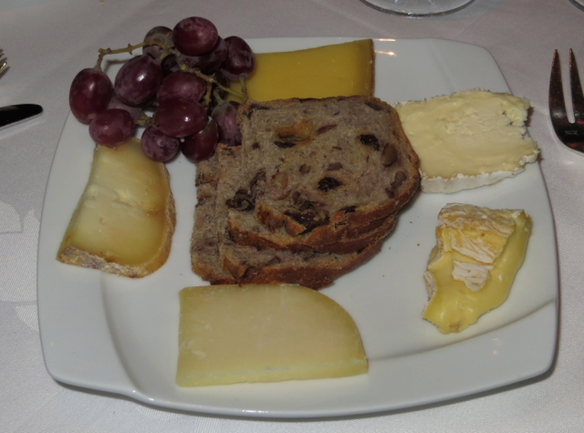 Gary Danko San Francisco Review: Cheese Plate
