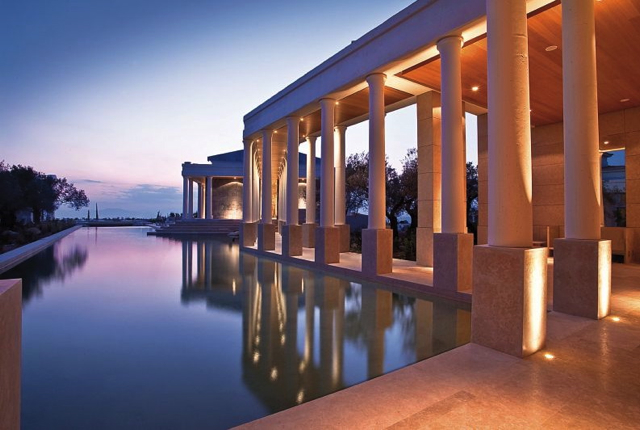 A Top Mediterranean Resort: Amanzoe, Greece