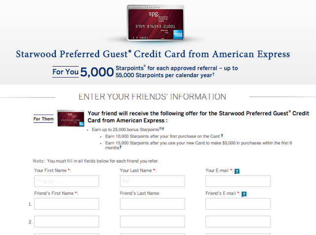 AMEX Refer a Friend: Up to 55,000 Bonus Points per Year (Targeted)