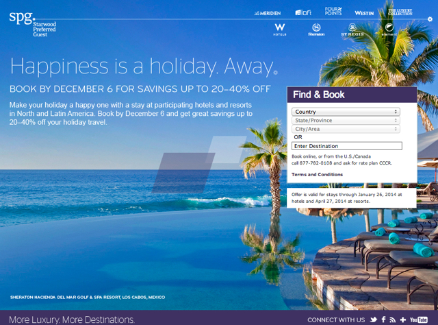 Expiring Deals: US Airways 100% Share Miles, Starwood Cyber Monday, Triple Points on Dining