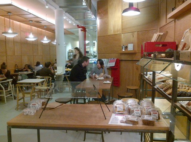 Breads Bakery NYC Review - Cafe Seating