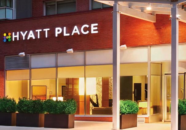 Hyatt Visa Annual Free Night at Category 1-4 Hyatt - Hyatt Place Midtown South