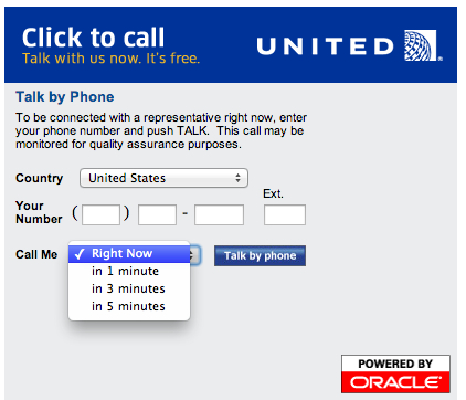 Get United to Call You Back and Save Time