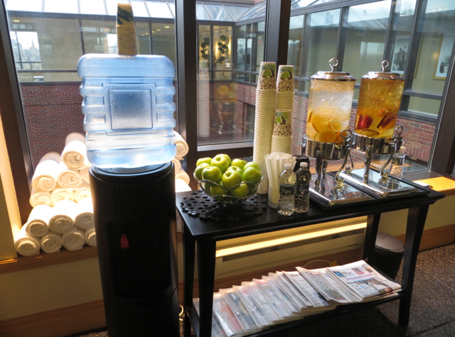 Four Seasons Boston Review - Fruit Infused Water Post-Workout