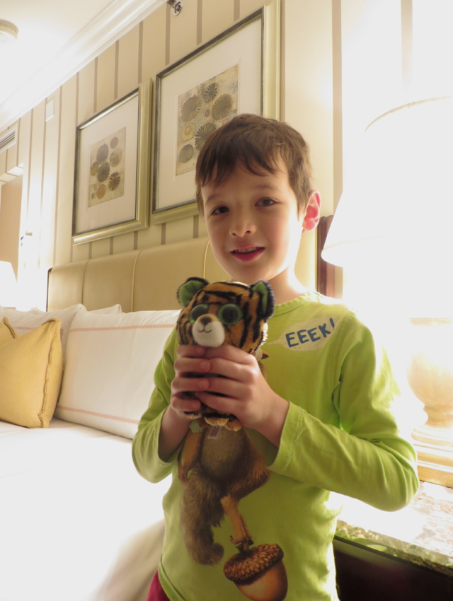 Four Seasons Boston Review - Kids Welcome Amenity Stuffed Animal