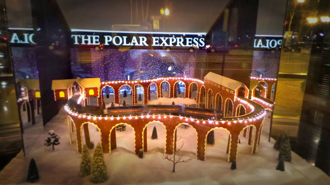 Four Seasons Boston Review - The Polar Express Train