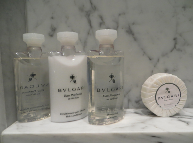 Four Seasons Boston State Suite Review - Bulgari Bath Amenities