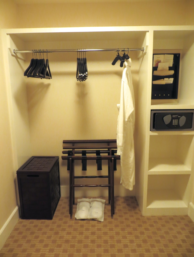 Four Seasons Boston State Suite Review - Closet