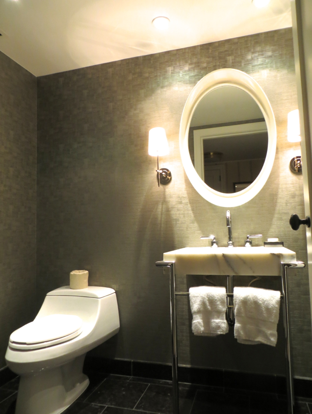 Four Seasons Boston State Suite Review - Half Bathroom